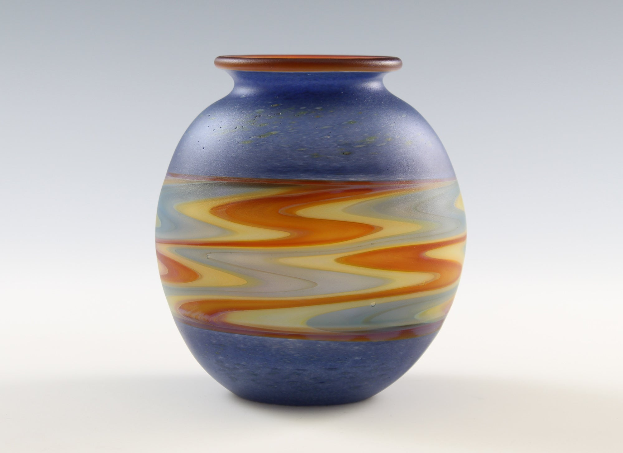 Blue Incalmo Vase 1904