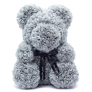 GREY ROSE BEAR - Home of Roses