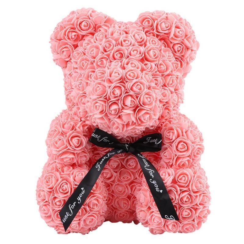 PINK ROSE BEAR - Home of Roses