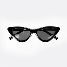Load image into Gallery viewer, Jackie Cat Eye Shades in Black
