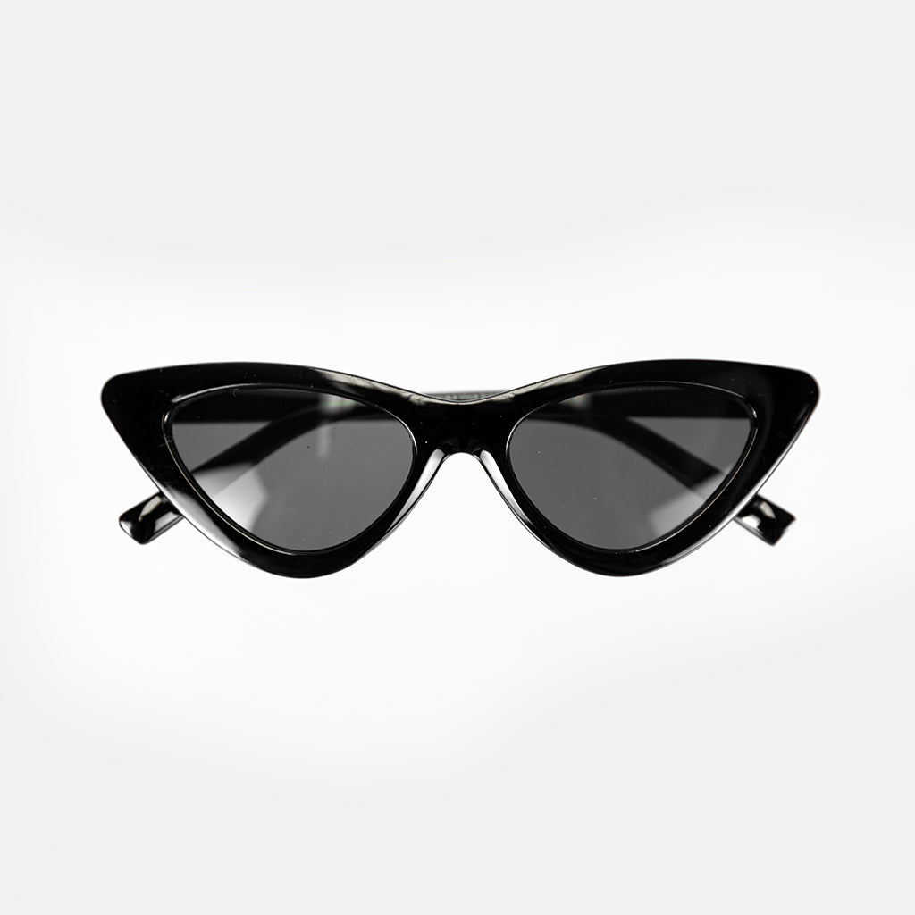 Jackie Cat Eye Shades in Black