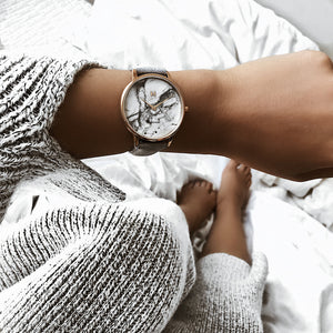 MVMT Beverly Marble Women's Watch in Grey