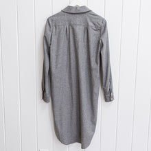 Load image into Gallery viewer, Sauths Grey Shirtdress Size S
