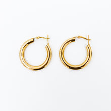 Load image into Gallery viewer, Cleo Large Hoop Earrings