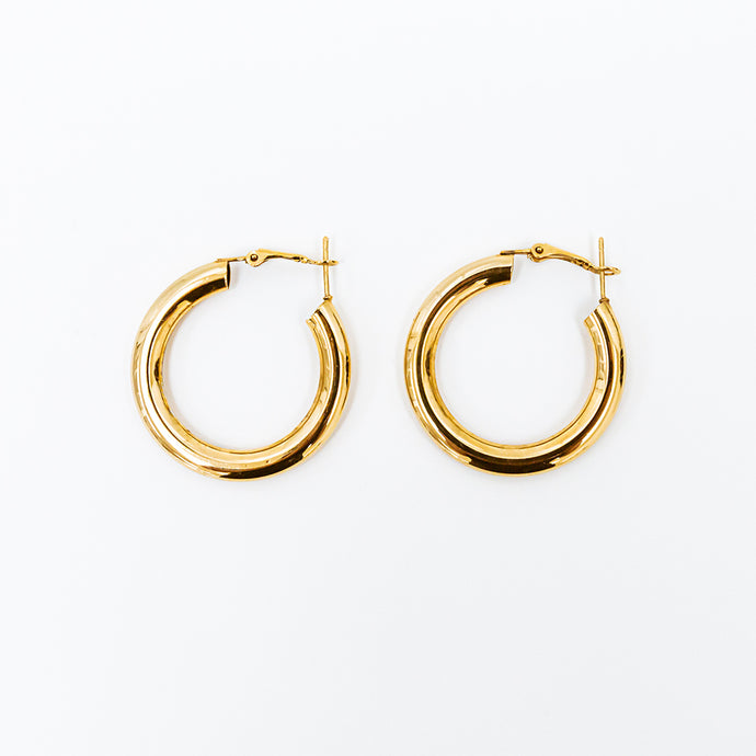 Cleo Large Hoop Earrings