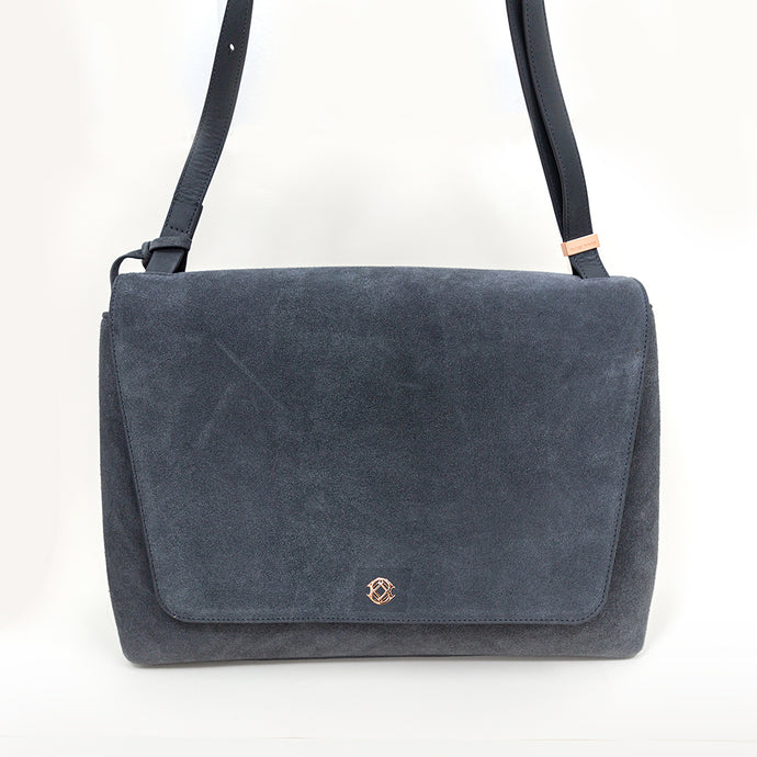Dagne Dover Dusty Blue Simone Satchel