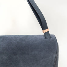Load image into Gallery viewer, Dagne Dover Dusty Blue Simone Satchel