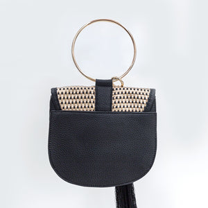 Farrah and Sloane Tassle Hand Bag