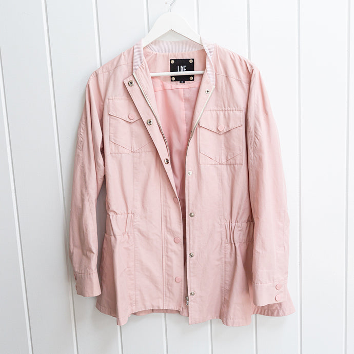 Lie Collection Blushing Track Jacket  Size S