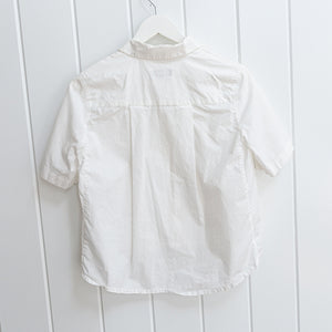 Lie Collection White Crop Blouse Size S
