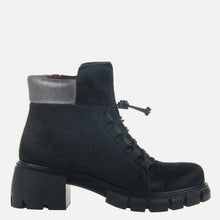 Load image into Gallery viewer, Militant in Black Ankle Boots
