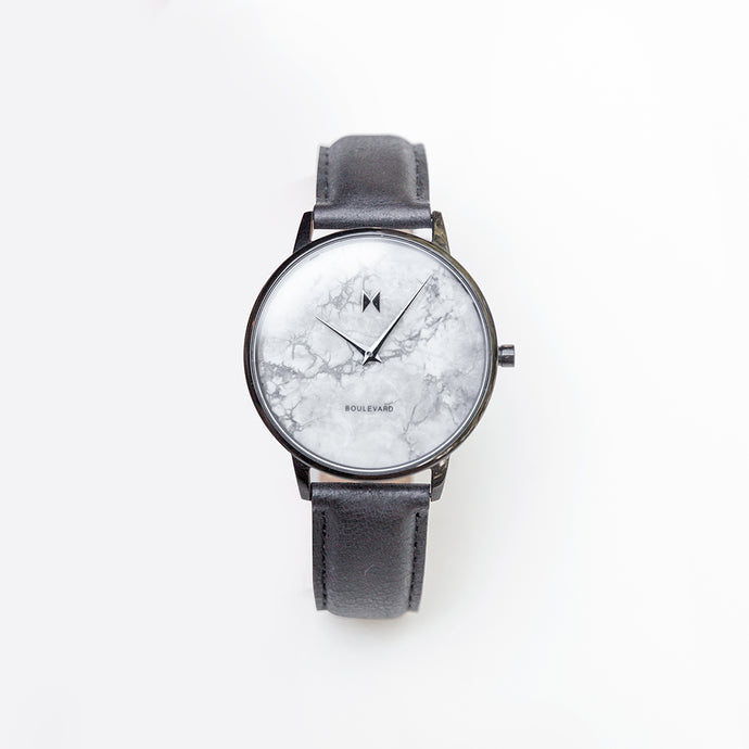 MVMT Le Brea Marble Women's Watch in Black