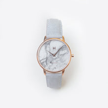 Load image into Gallery viewer, MVMT Beverly Marble Women's Watch in Grey