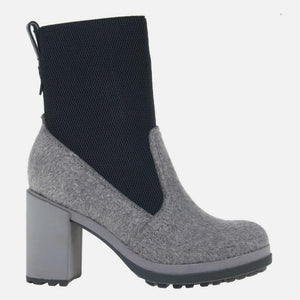 Survival in Grey Mid-Shaft Boots