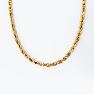 Venus Twist Chain Necklace