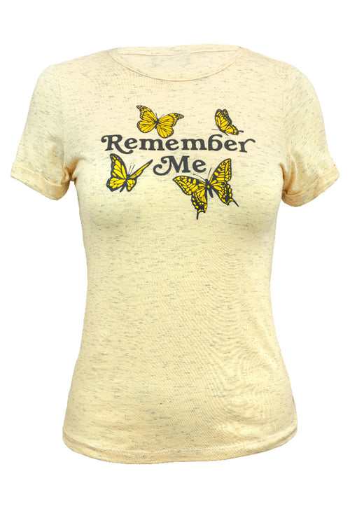 "Playera manga corta ""REMEMBER ME"" (4579238969411)"