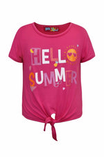 "Playera ""HELLO SUMMER"". (4493813317699)"