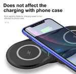 Double Qi Wireless iPhone Charger Pad - Wireless Wanted