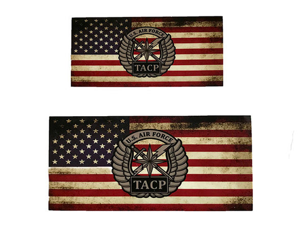 TACP Weathered Flag Sticker