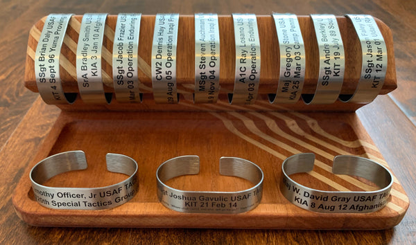 Stainless Steel Memorial Bracelets