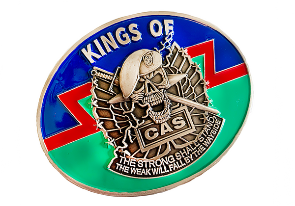 Kings of CAS Belt Buckle