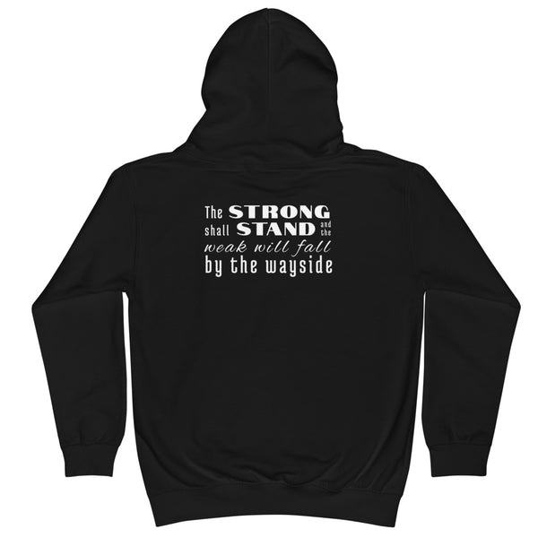Strong Shall Stand Hoodie - Youth