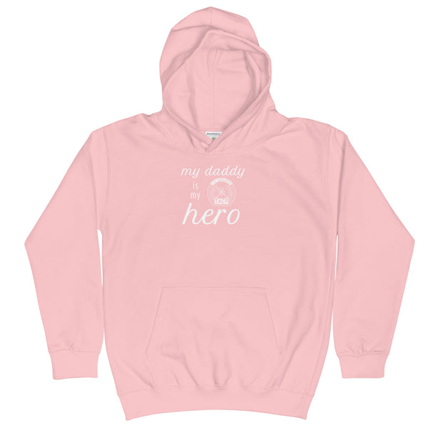 Daddy is my Hero Hoodie - Youth