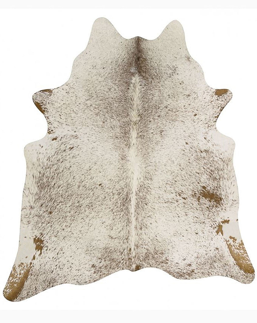 Salt and Pepper Brazilian Cowhide Rug
