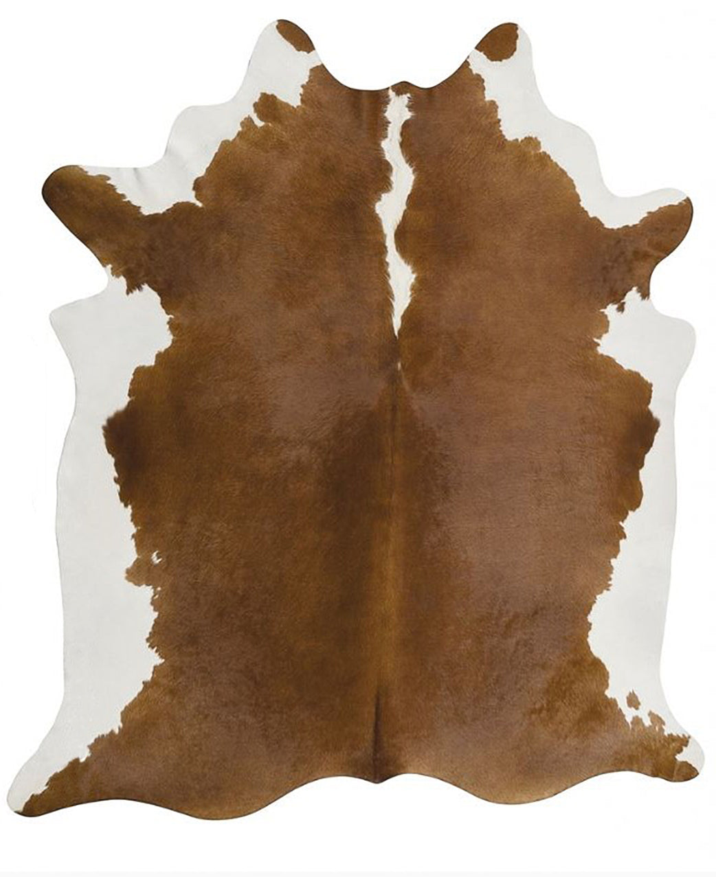Hereford Brown Brazilian Cowhide Rug