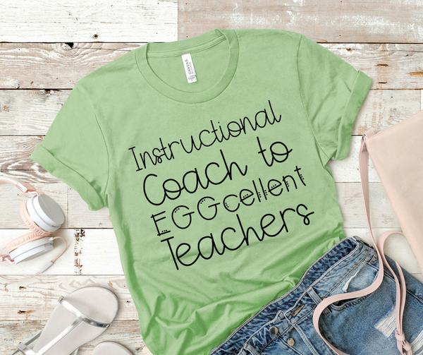 Instructional Coach to EGGcellent Teachers
