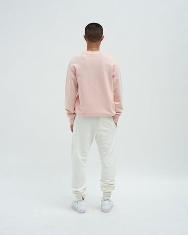 Loose fit track pants ivory