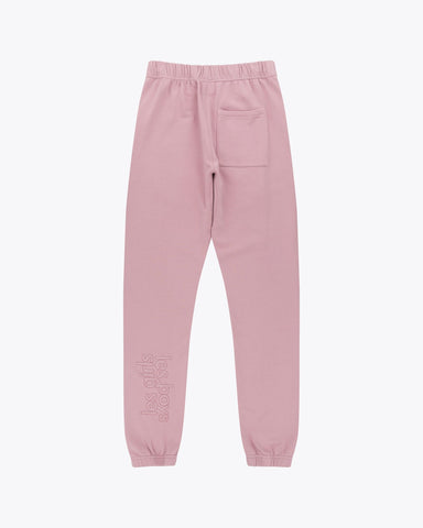 Loose fit track pants mauve