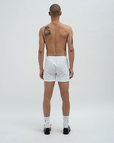 Cotton jersey boxers white