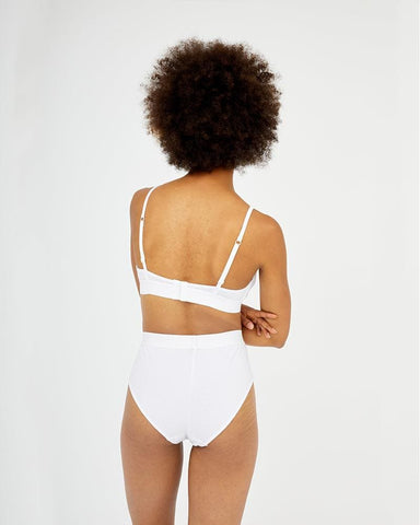 PRE-ORDER Ultimate comfort high waist brief white