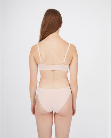 Seamfree soft bra peachy keen