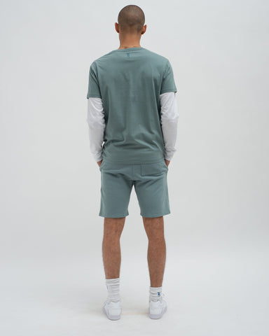 Loopback shorts stormy sea