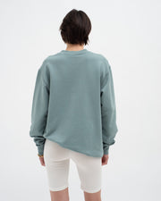 Crew neck sweatshirt stormy sea