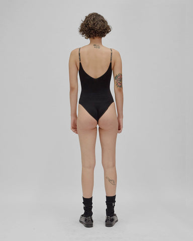 bamboo rib body black