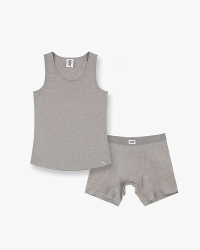 Mens vests and long trunk set