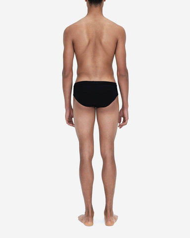 Jersey cotton briefs 3 pack black