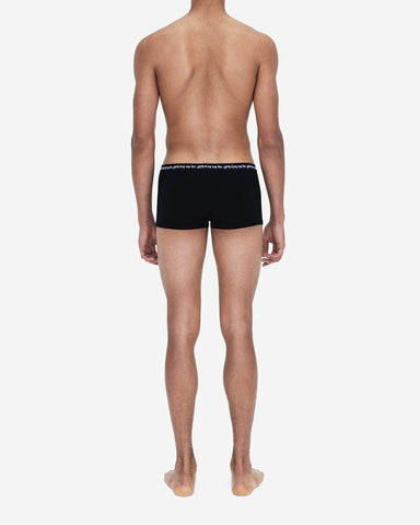 Jersey cotton boxers 3 pack black