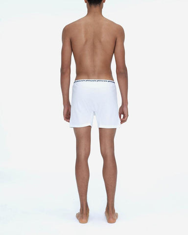 Jersey cotton boxers white