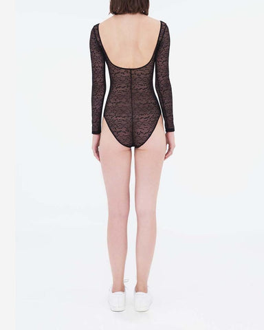Snake lace body black