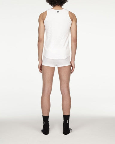 men's opening ceremony rib jersey tank top white