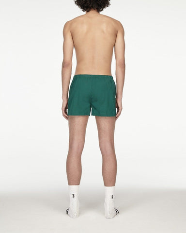 Classic woven boxers forest green
