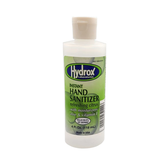 Hand Sanitizer Citrus Scent 4oz