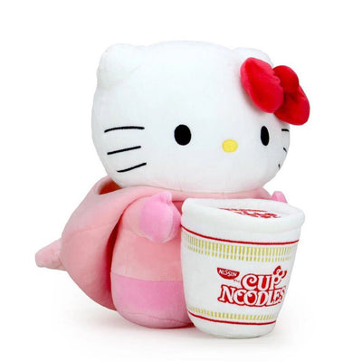 NISSIN CUP NOODLES X HELLO KITTY® PORK CUP MEDIUM PLUSH