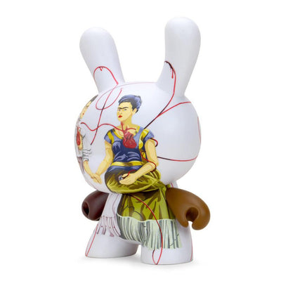 "Frida Kahlo Masterpiece Dunny 8"" The Two Fridas"