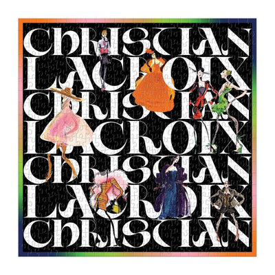 Christian Lacroix Double-Sided Puzzle