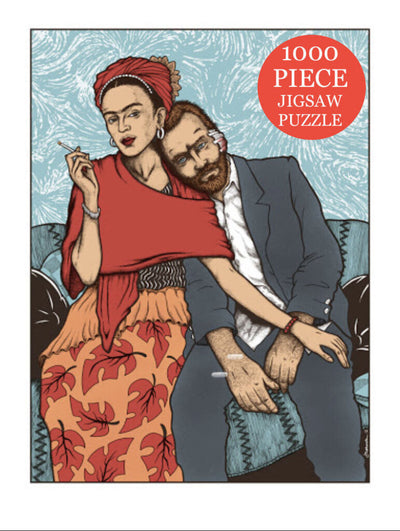 Frida and Vincent Puzzle by Jermaine Rogers